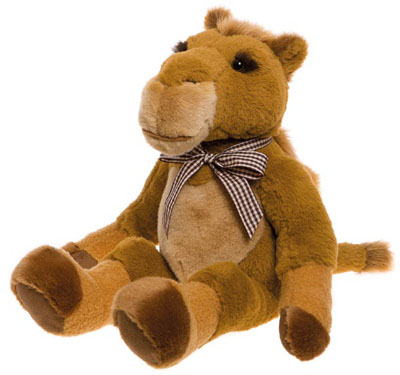 Charlie Bears Oakfield Bearhouse Camel