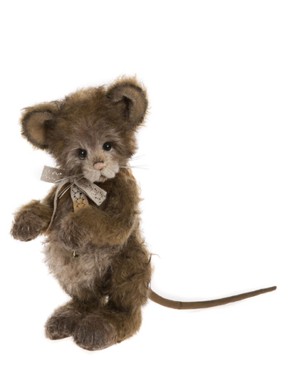 Charlie Bears Mohair Cottage Mouse