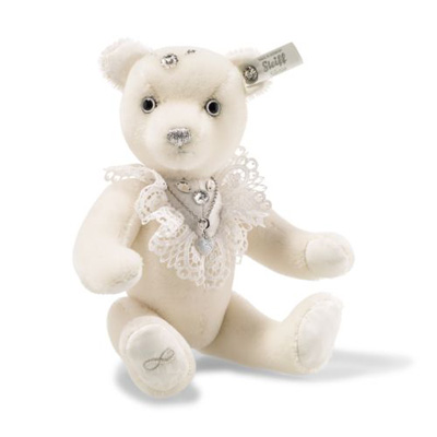 Steiff Bride Teddy Bear Swarovski