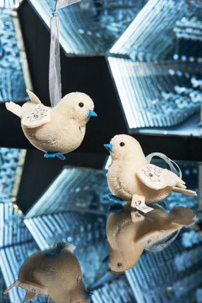 Wedding Dove Pair Swarovski