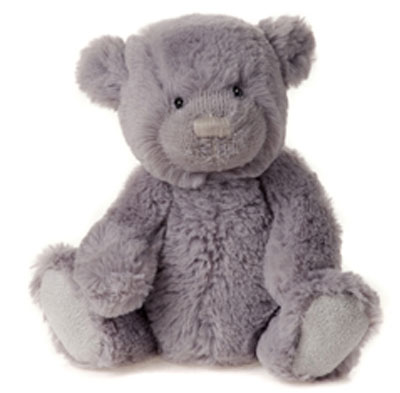 Charlie Bears Travel Buddy Grey Armstrong