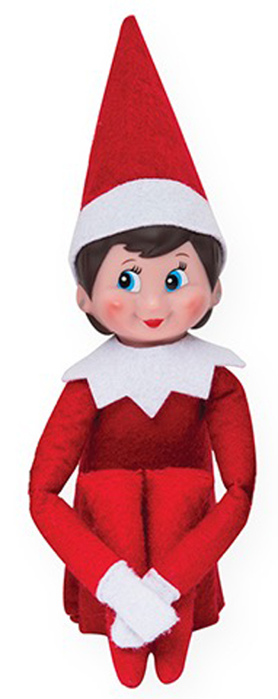 Official Elf On The Shelf Girl Scout Elf - Teddy Bears UK