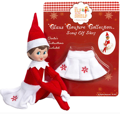 Official Elf On The Shelf Snowflake Skirts