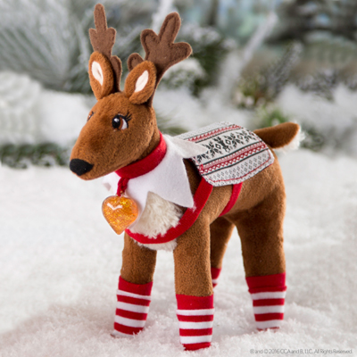 Official Elf On The Shelf Reindeer Pet Polar