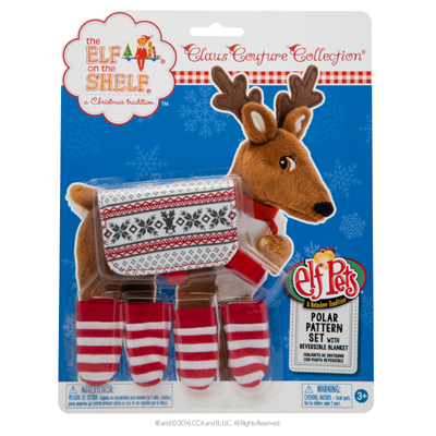 Official Elf On The Shelf Reindeer Polar Set