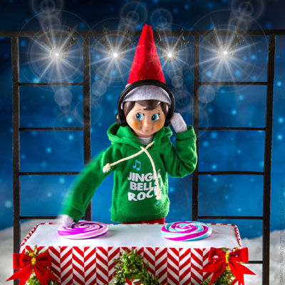 Official Elf On The Shelf Jingle Jam Hoodie