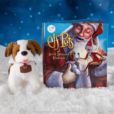 Official Elf On The Shelf St Bernard