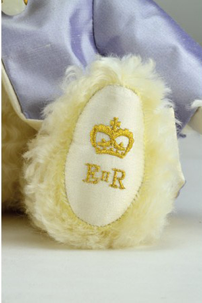 Merrythought HM Queen Elizabeth II Bear