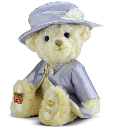 Merrythought HM Queen Elizabeth II Teddy