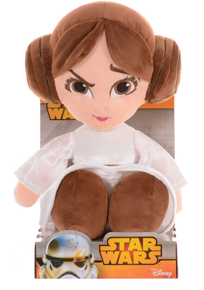 Disney Star Wars Princess Leia Licensed Plush