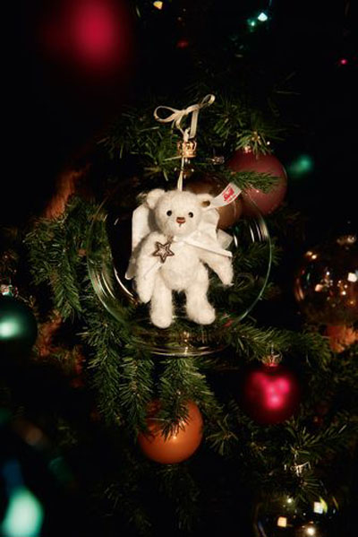 Gabriel Teddy Bauble Ornament