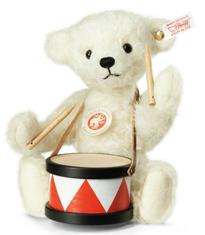 Steiff Lukas with Drum Teddy Bear