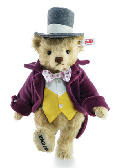 Steiff Roald Dahl Willy Wonka Teddy Bear