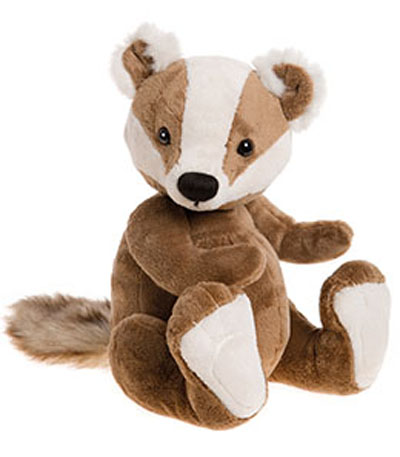 Charlie Bears Baby Boutique Gunther Badger