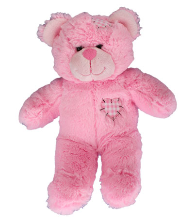 Pink Patch Bear Teddy