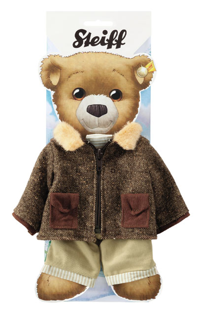 Steiff Teddy Bear Winter Jacket and Trousers Outfit