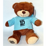 One Direction Bear in Blue Hoodie