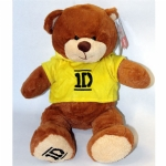 One Direction Bear in Yellow Hoodie
