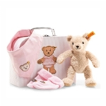 Steiff Baby Girl Suitcase Set