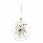 Steiff Gabriel Bear in Bauble Ornament