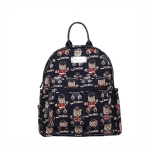Teddy London Bear Tapestry Casual Daypack