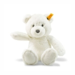 Steiff Soft Cuddly Friends Bearzy White Teddy Bear
