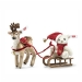 Steiff Christmas Sleigh Set