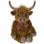 Charlie Bears Patty Bearhouse Highland Cow