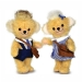SALE Merrythought Punkie School Girl and Boy 20cm
