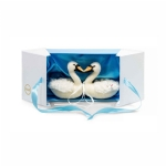 SALE Steiff Wedding Swan set