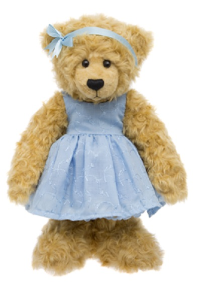 Alice's Bear Shop Sandy Blue Dress