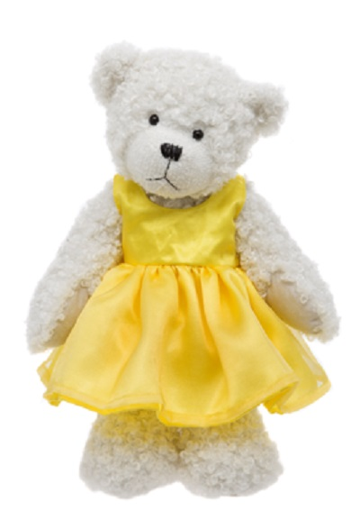 Alice's Bear Shop Tilly Yellow Dress