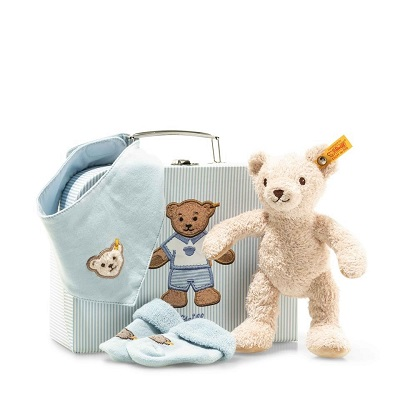 Steiff Baby Boy Suitcase Set