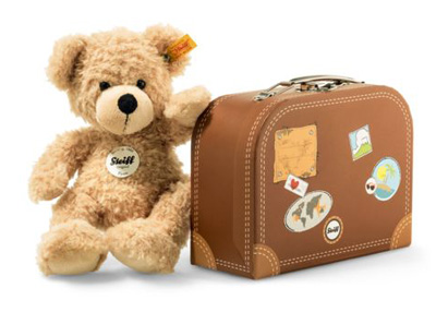 Steiff Fynn Teddy Bear Suitcase