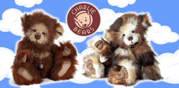 Dolls & Bears Bears New 2017 Charlie Bears Duchess brand New Stock!